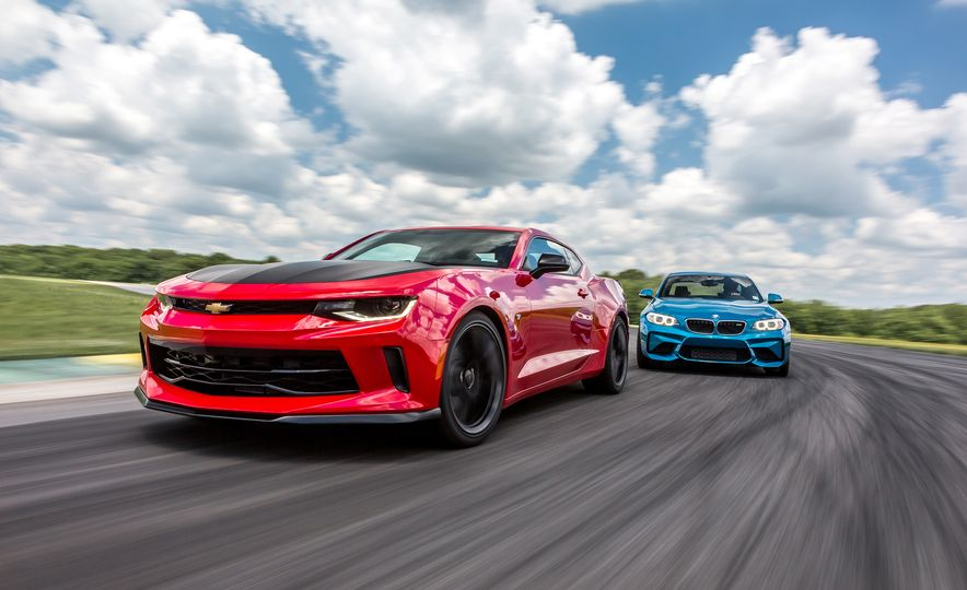 2017 Chevrolet Camaro 1LE  and 2016 BMW M2 - Slide 1