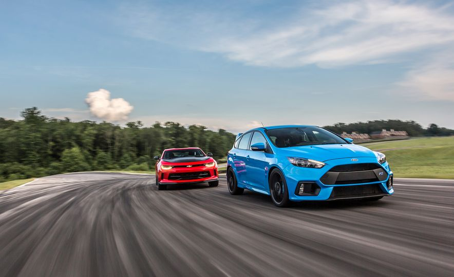 2017 Chevrolet Camaro 1LE and 2016 Ford Focus RS - Slide 1
