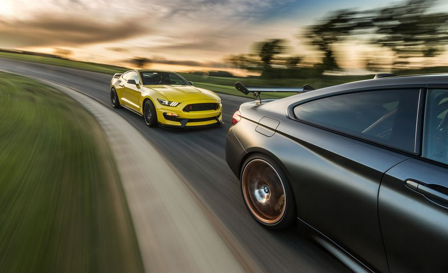 2016 Ford Mustang Shelby GT350R and 2016 BMW M4 GTS - Slide 1