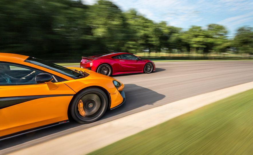 2016 McLaren 570S and 2017 Acura NSX - Slide 1