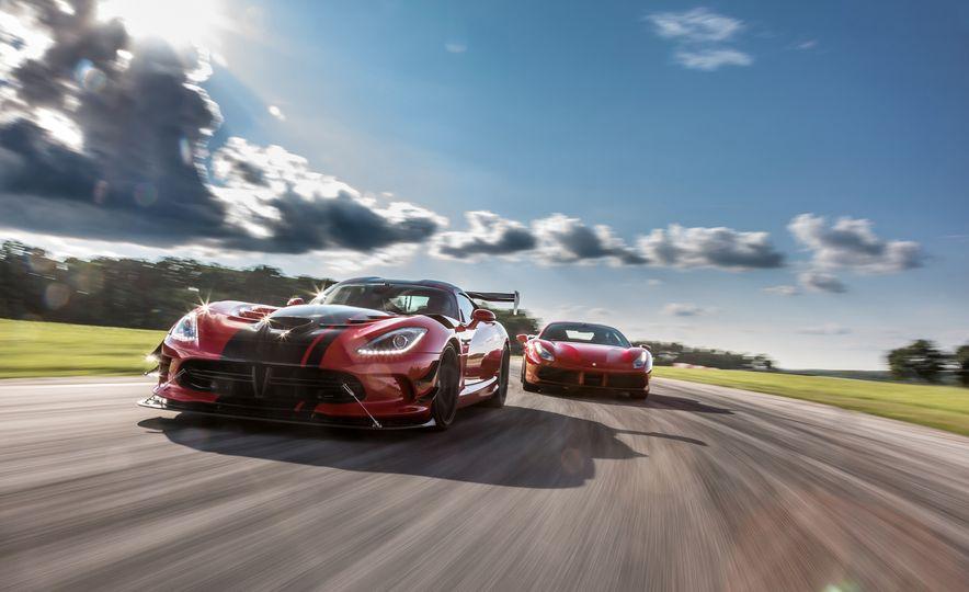2016 Dodge Viper ACR and 2016 Ferrari 488GTB - Slide 1