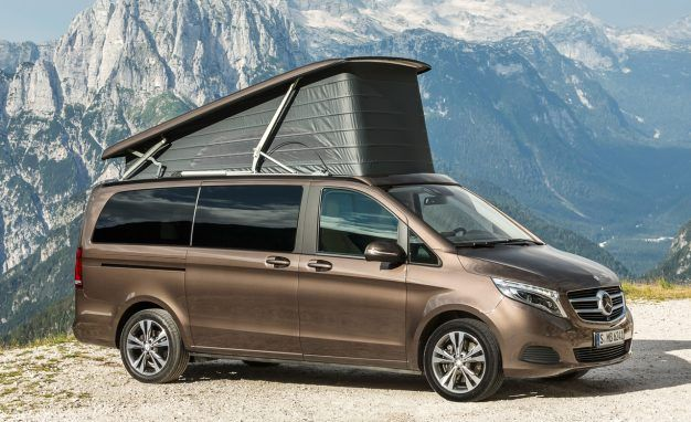 We'll Gladly Live Down by a River in One of These Mercedes-Benz Vans