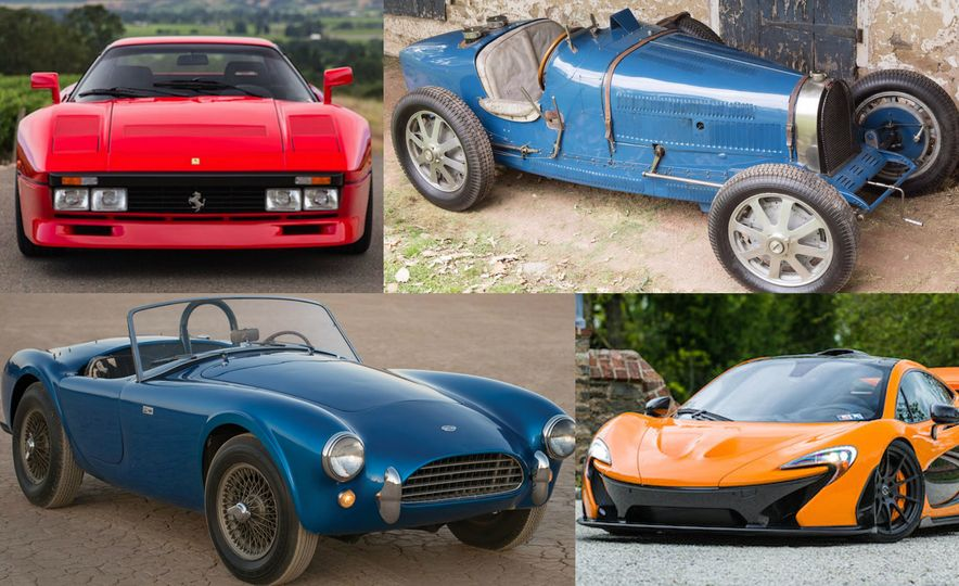 The 10 Most Expensive Cars Sold at the 2016 Monterey Auctions, Day 2 - Slide 1