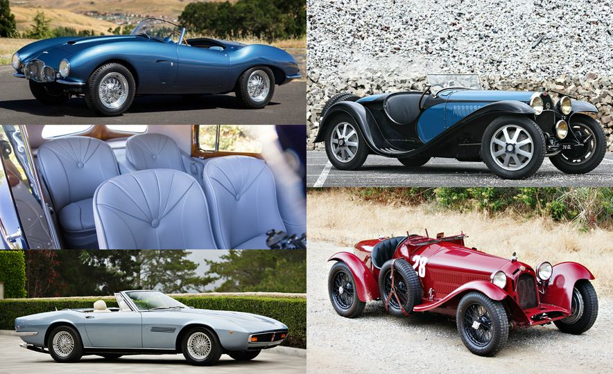 The 10 Most Expensive Cars Sold at the 2016 Monterey Auctions, Day 4 - Slide 1