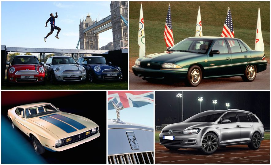Chariots of Fire: 16 Olympic Special-Edition Cars That Went for the Gold - Slide 1