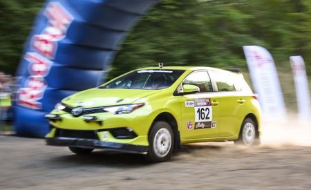 Toyota Takes the Corolla iM Rallying, Because Why Not?