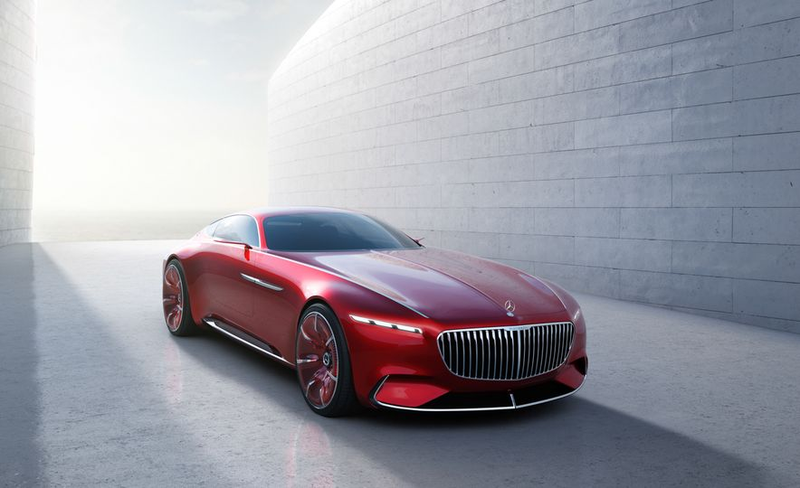 Vision Mercedes-Maybach 6 concept - Slide 1