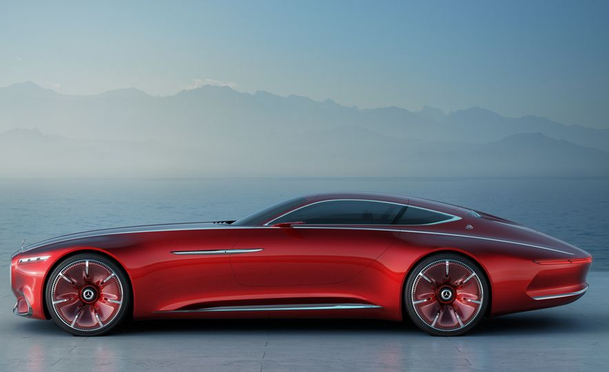 Vision Mercedes-Maybach 6 concept - Slide 2