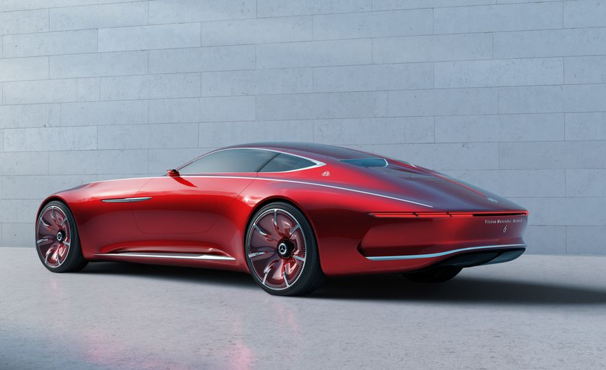 Vision Mercedes-Maybach 6 concept - Slide 3