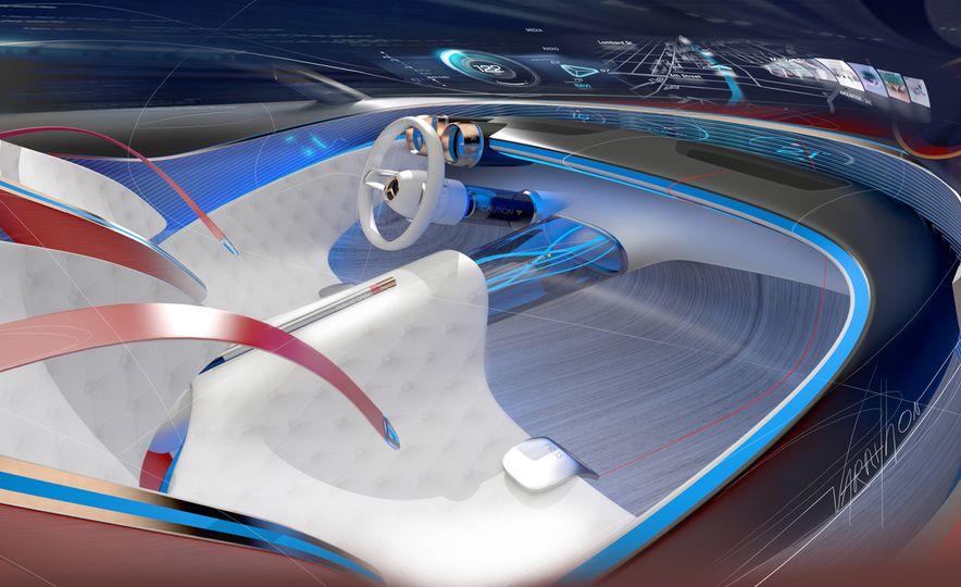 Vision Mercedes-Maybach 6 concept - Slide 8
