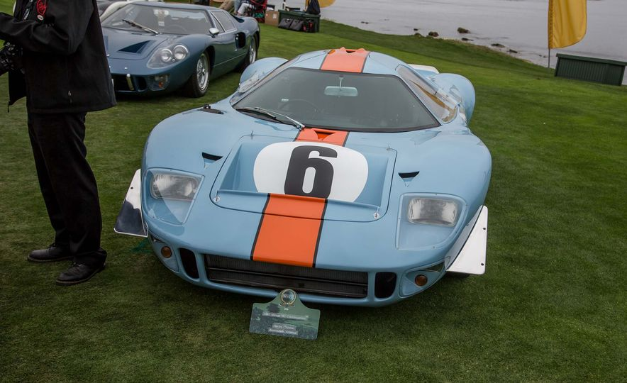 17 Vintage Ford GT40s Stampede into Pebble Beach! We Dive into Their Histories - Slide 45
