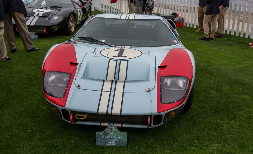 17 Vintage Ford GT40s Stampede into Pebble Beach! We Dive into Their Histories - Slide 11