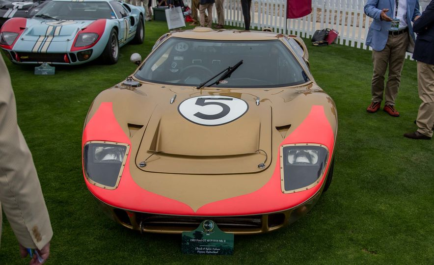 17 Vintage Ford GT40s Stampede into Pebble Beach! We Dive into Their Histories - Slide 14
