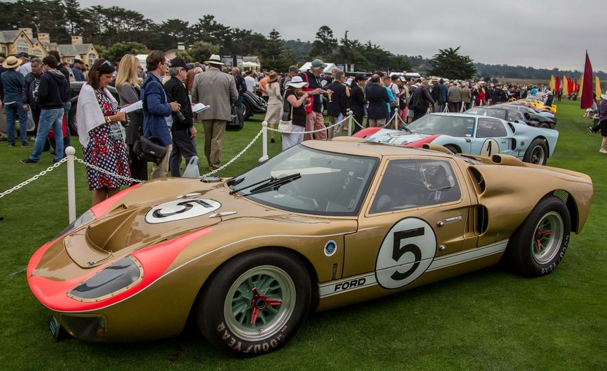 17 Vintage Ford GT40s Stampede into Pebble Beach! We Dive into Their Histories - Slide 13