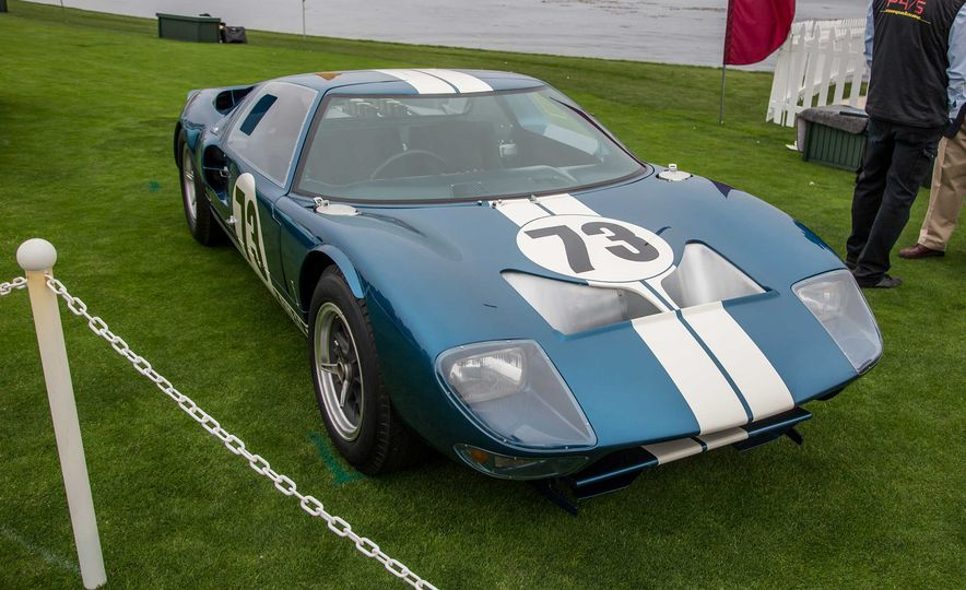 17 Vintage Ford GT40s Stampede into Pebble Beach! We Dive into Their Histories - Slide 5