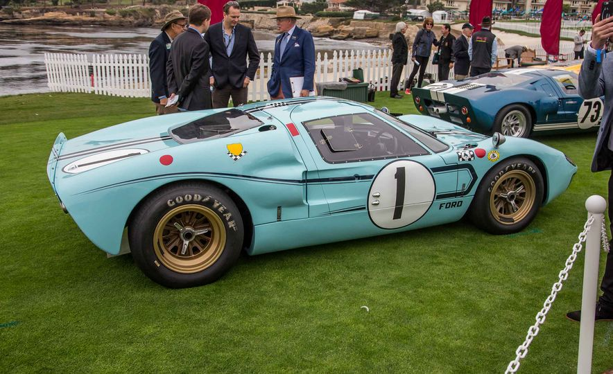 17 Vintage Ford GT40s Stampede into Pebble Beach! We Dive into Their Histories - Slide 17