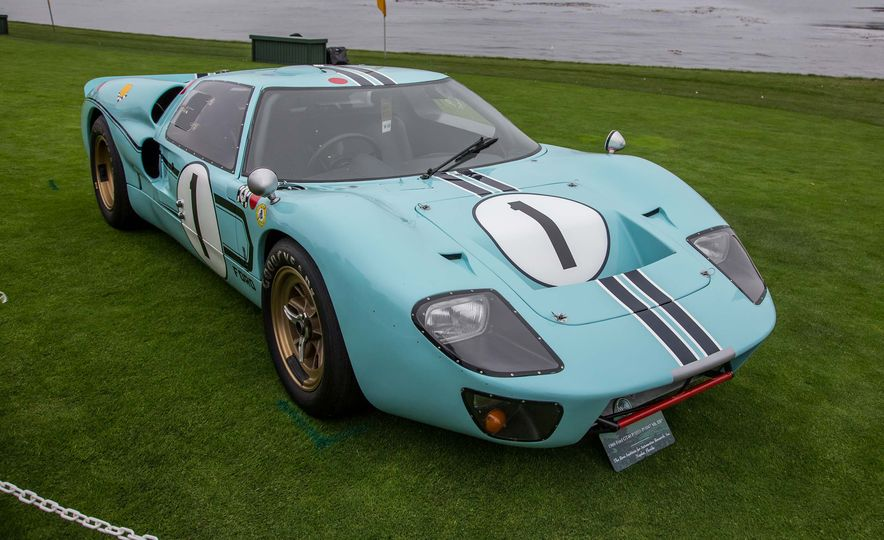 17 Vintage Ford GT40s Stampede into Pebble Beach! We Dive into Their Histories - Slide 16
