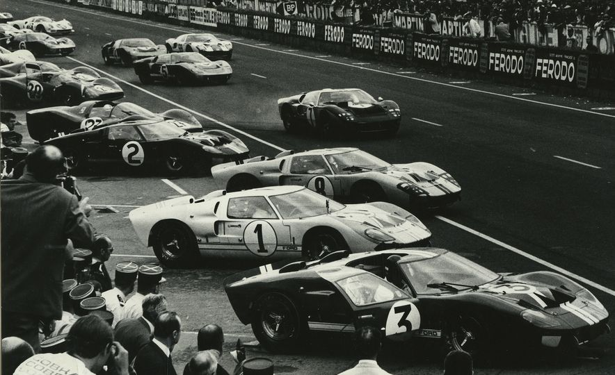 17 Vintage Ford GT40s Stampede into Pebble Beach! We Dive into Their Histories - Slide 18