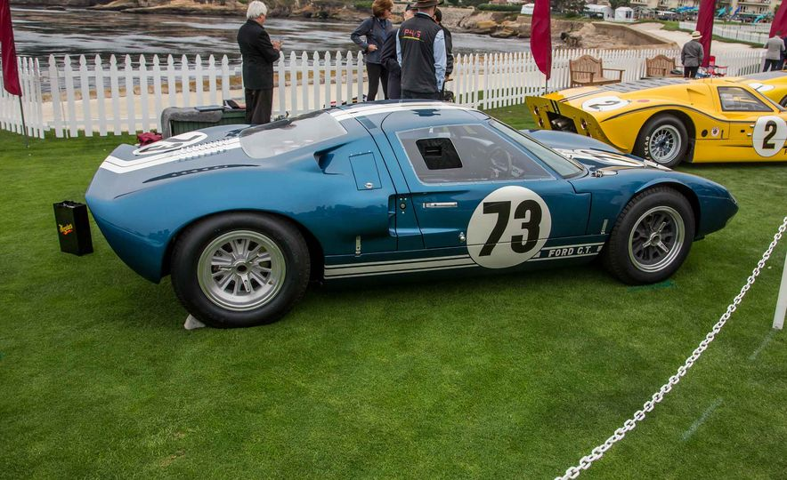 17 Vintage Ford GT40s Stampede into Pebble Beach! We Dive into Their Histories - Slide 6