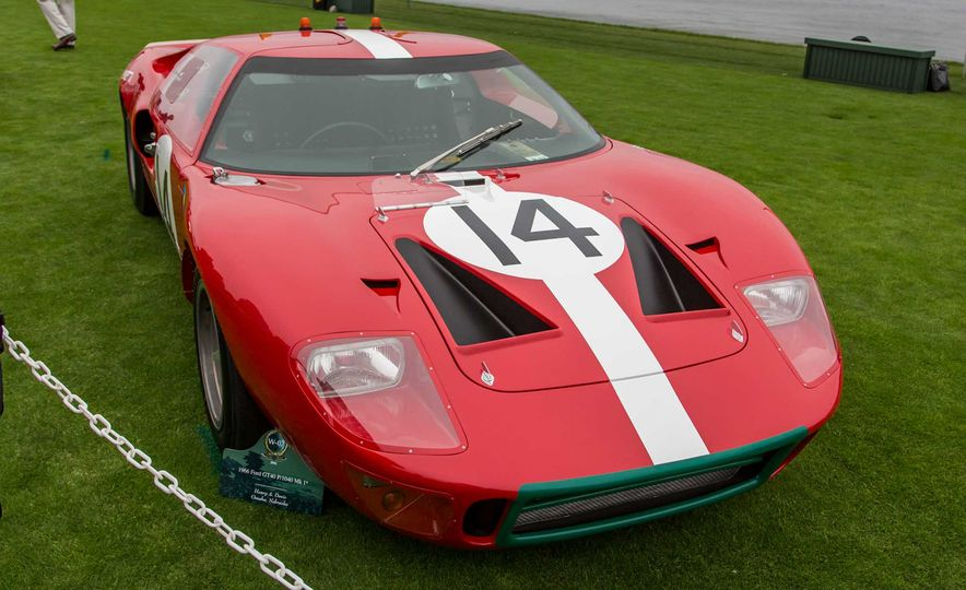 17 Vintage Ford GT40s Stampede into Pebble Beach! We Dive into Their Histories - Slide 19