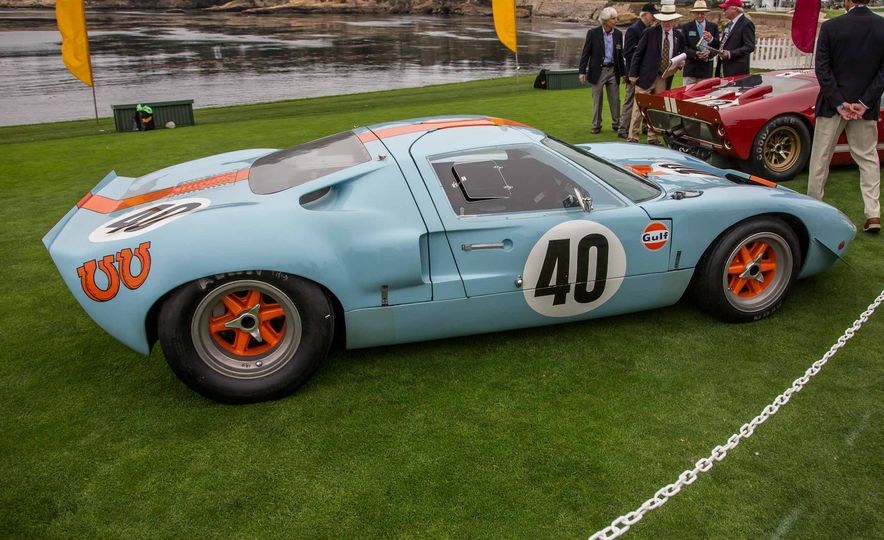 17 Vintage Ford GT40s Stampede into Pebble Beach! We Dive into Their Histories - Slide 27
