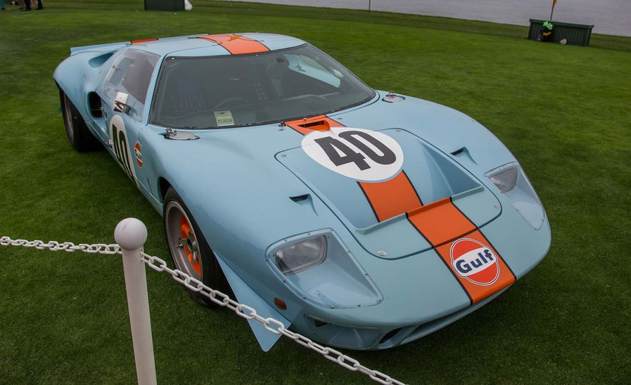 17 Vintage Ford GT40s Stampede into Pebble Beach! We Dive into Their Histories - Slide 26