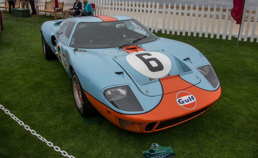 17 Vintage Ford GT40s Stampede into Pebble Beach! We Dive into Their Histories - Slide 29
