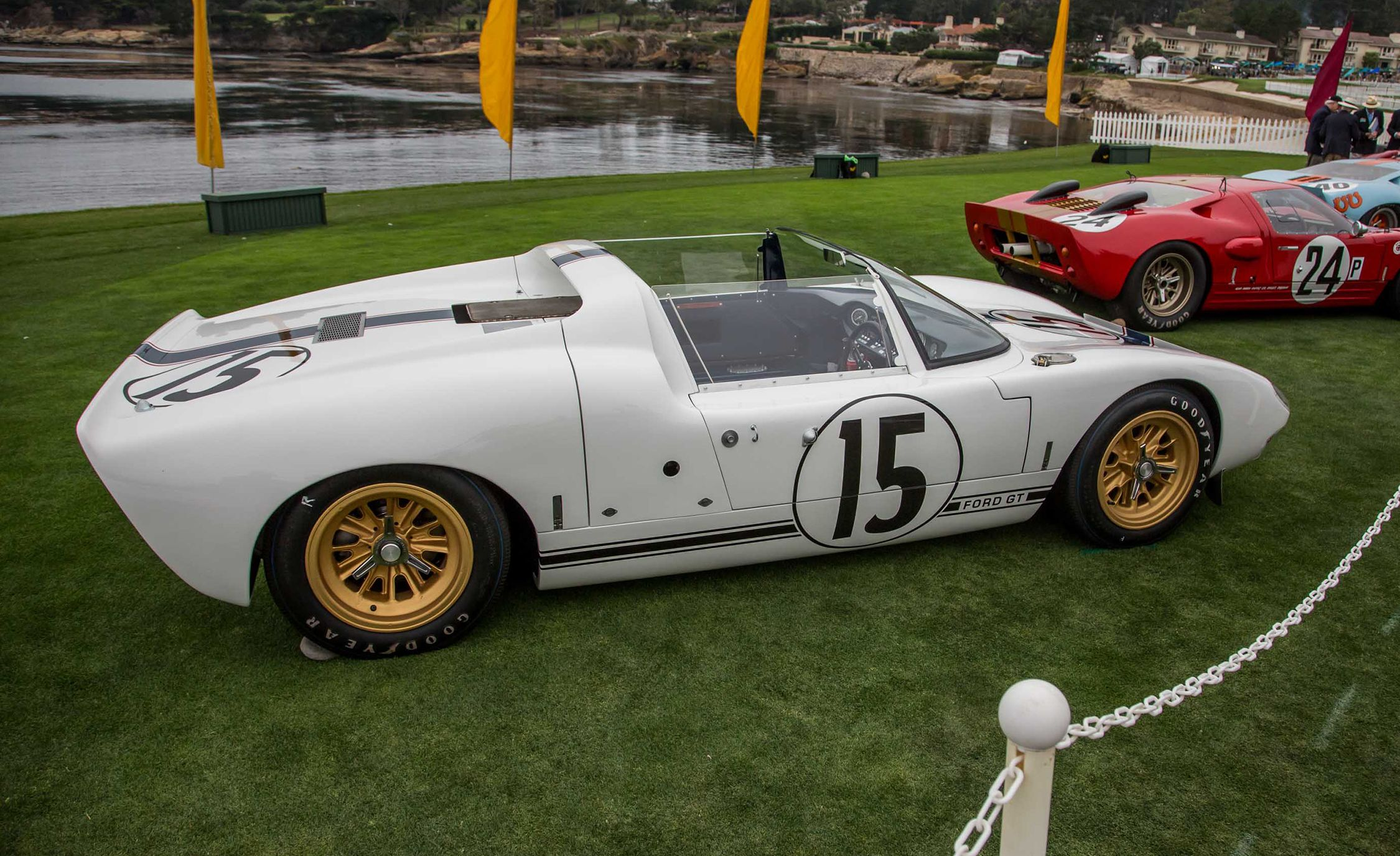 Vintage Ford Gts Stampede Into Pebble Beach We Dive Into Their Histories Flipbook Car And Driver