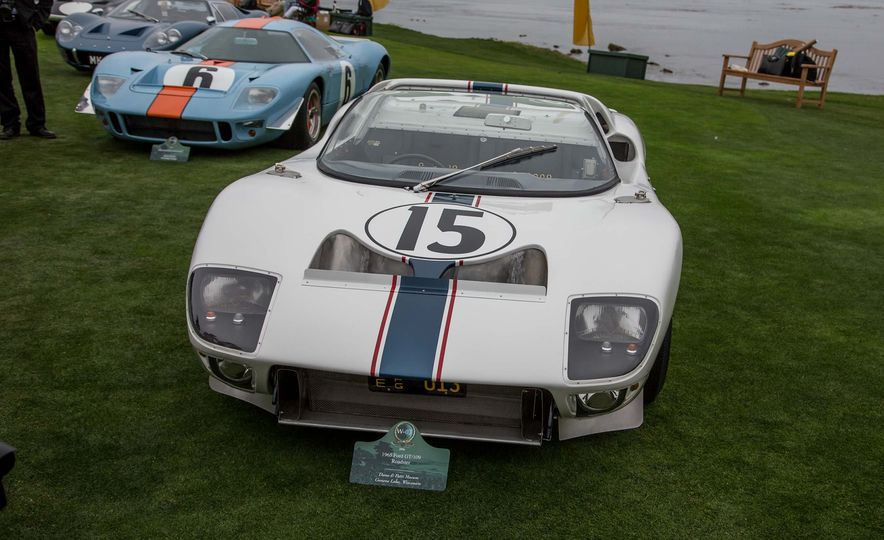 17 Vintage Ford GT40s Stampede into Pebble Beach! We Dive into Their Histories - Slide 8