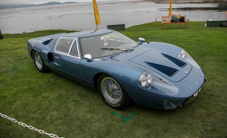 17 Vintage Ford GT40s Stampede into Pebble Beach! We Dive into Their Histories - Slide 43