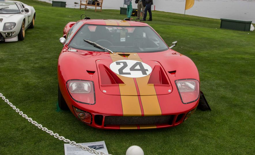 17 Vintage Ford GT40s Stampede into Pebble Beach! We Dive into Their Histories - Slide 32