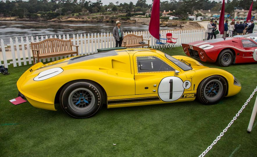 17 Vintage Ford GT40s Stampede into Pebble Beach! We Dive into Their Histories - Slide 35