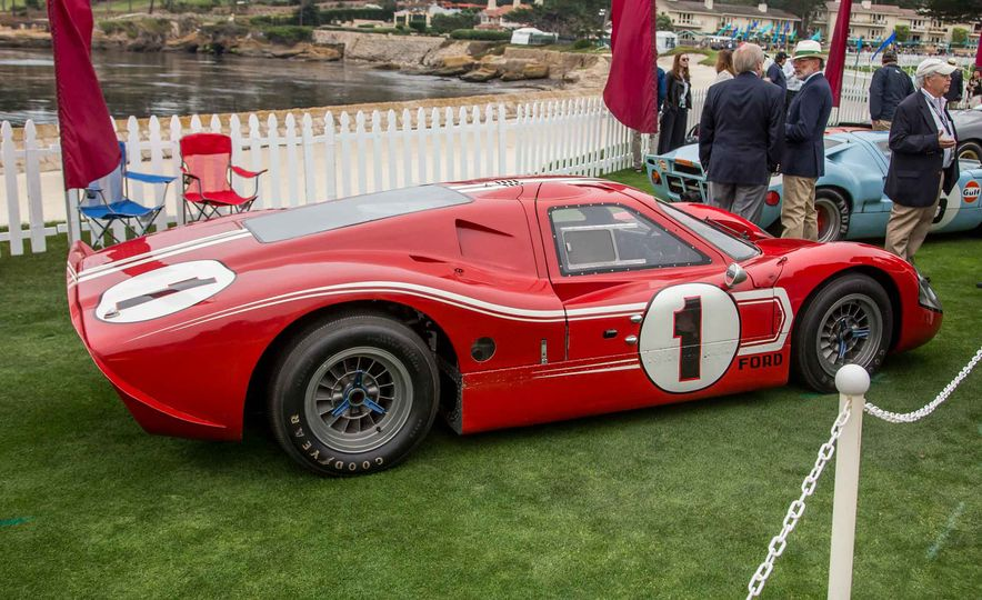 17 Vintage Ford GT40s Stampede into Pebble Beach! We Dive into Their Histories - Slide 37