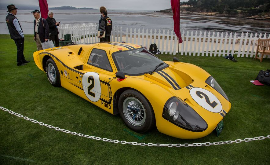 17 Vintage Ford GT40s Stampede into Pebble Beach! We Dive into Their Histories - Slide 40