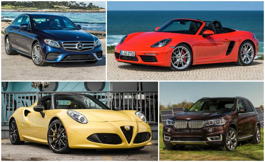 Four-Bangers for Your Buck: The 10 Most Expensive Cars with a Four-Cylinder Engine - Slide 1