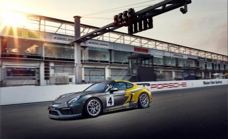Thanks to Manthey Racing, Your Porsche Cayman GT4 Clubsport Can Compete in GT4