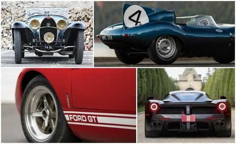 All The Money The Top 25 Most Expensive Cars Sold At The 2016