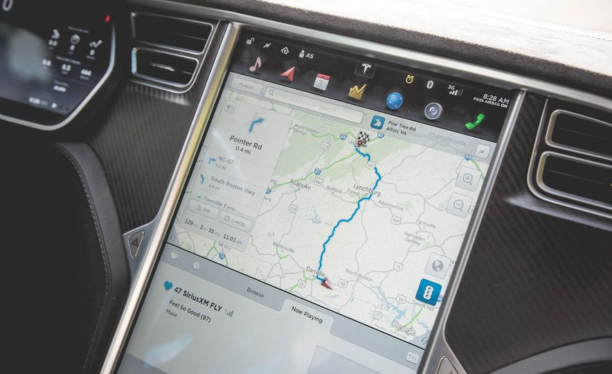 2015 Tesla Model S P85D - Slide 22