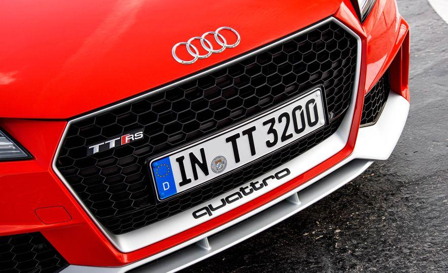 2018 Audi TT RS coupe - Slide 20