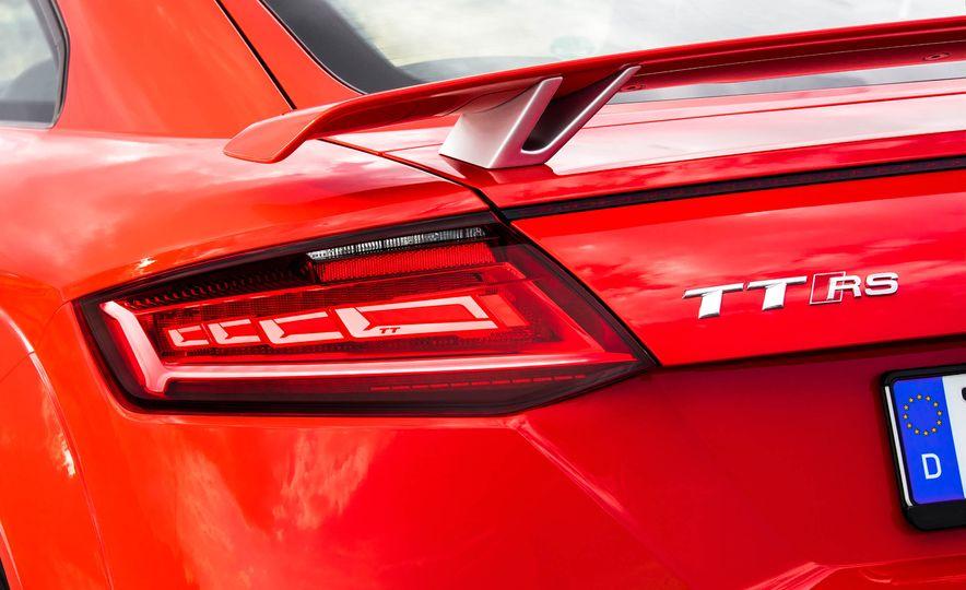 2018 Audi TT RS coupe - Slide 27