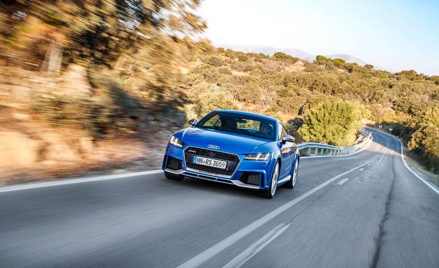 2018 Audi TT RS coupe - Slide 48