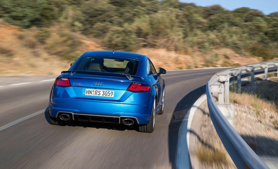 2018 Audi TT RS coupe - Slide 51