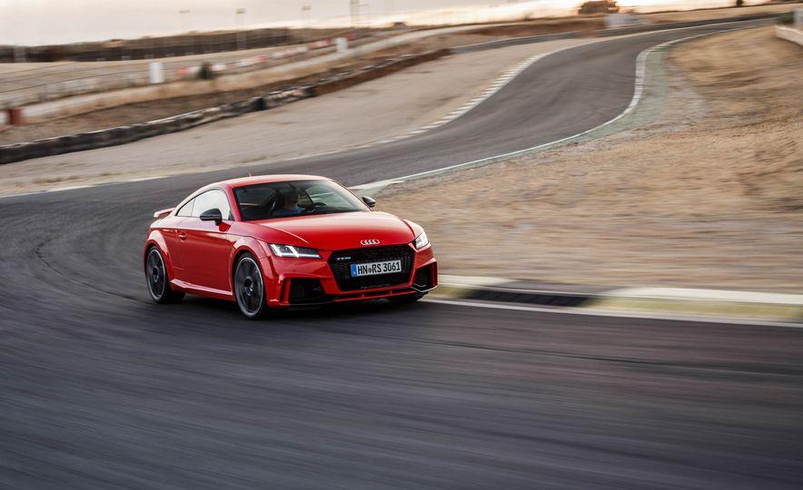 2018 Audi TT RS coupe - Slide 57