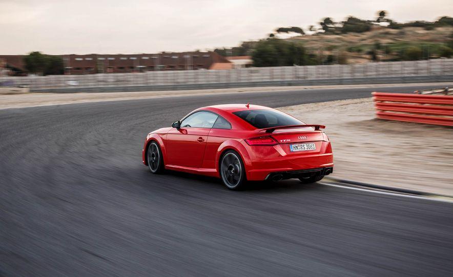 2018 Audi TT RS coupe - Slide 61