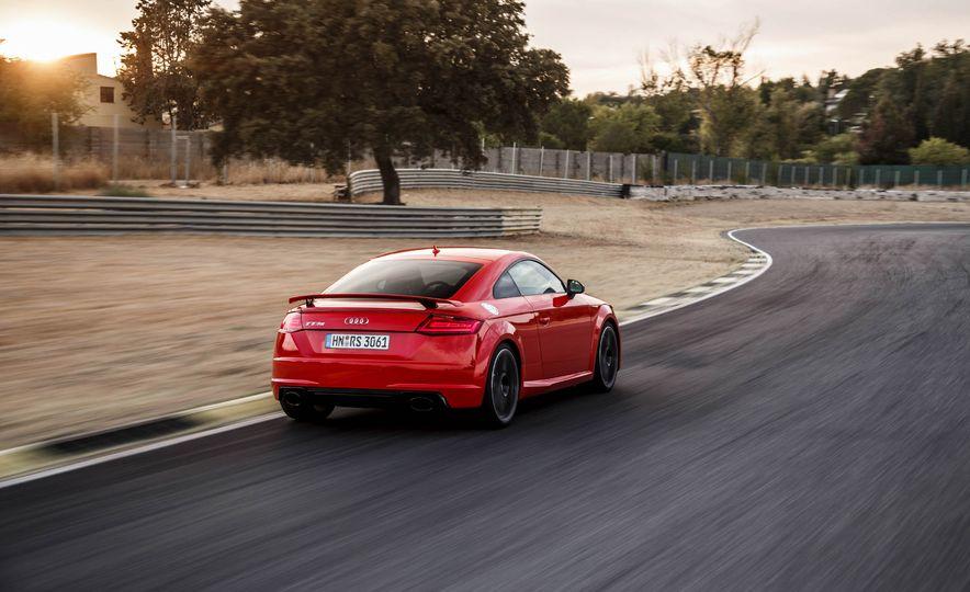 2018 Audi TT RS coupe - Slide 62