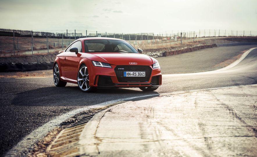2018 Audi TT RS coupe - Slide 63