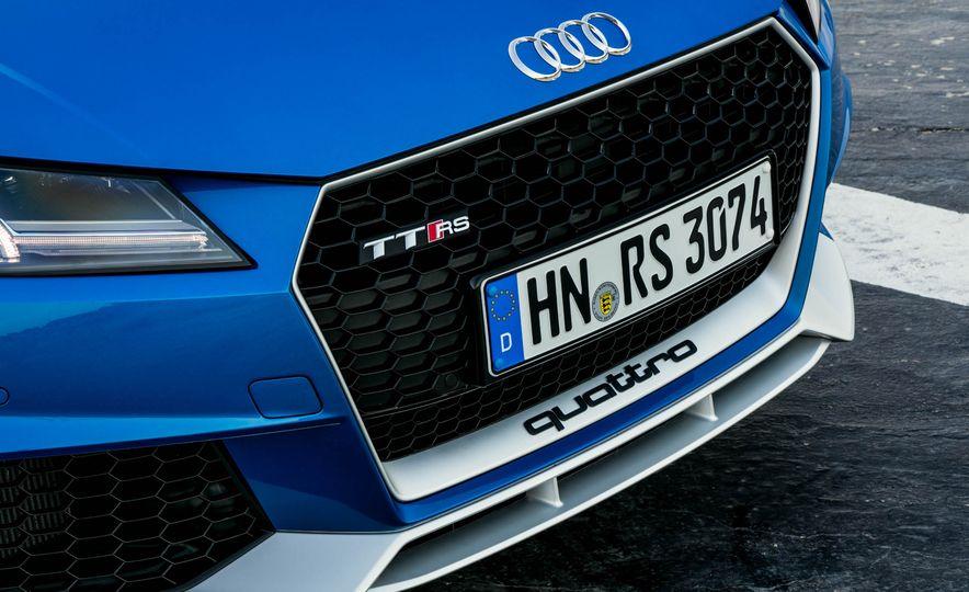 2018 Audi TT RS roadster - Slide 25