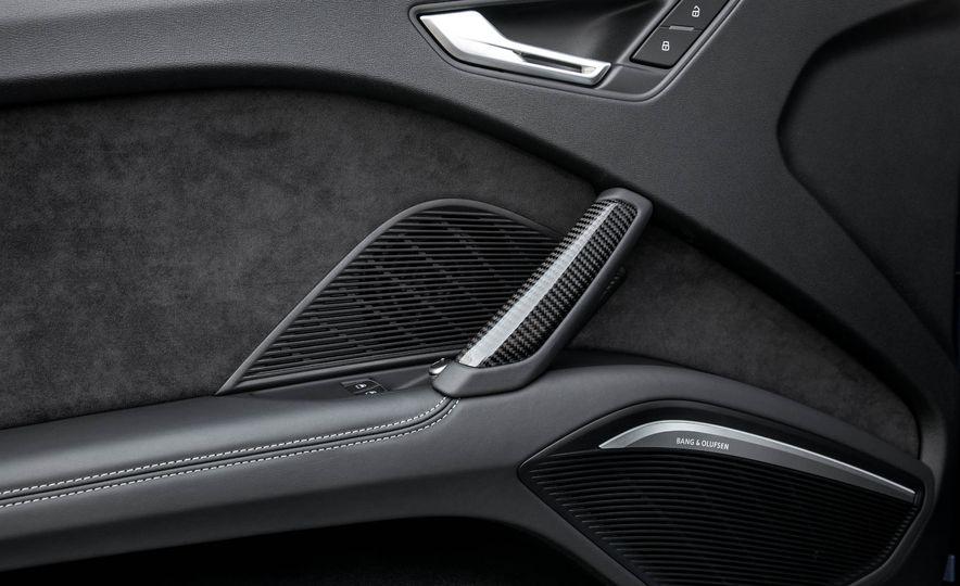 2018 Audi TT RS roadster - Slide 34