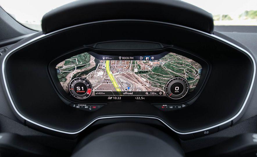 2018 Audi TT RS roadster - Slide 35