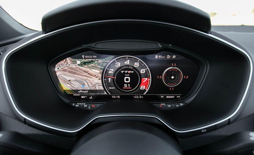 2018 Audi TT RS roadster - Slide 36